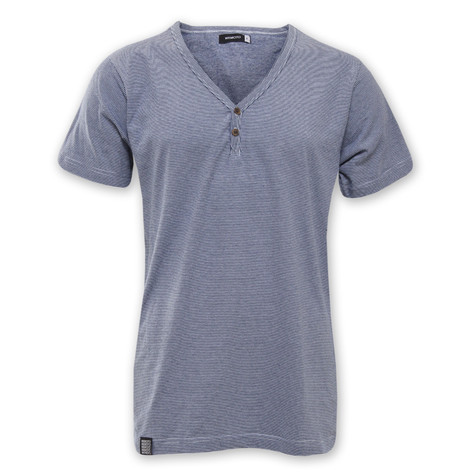 Wemoto - Smith V-Neck Button T-Shirt