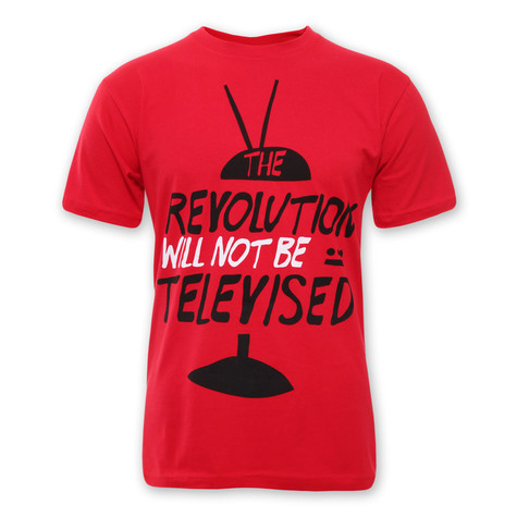 101 Apparel - The Revolution Will Not Be Televised T-Shirt