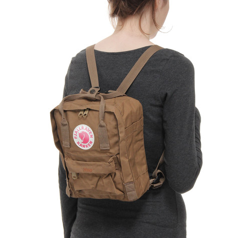 kanken mini brown