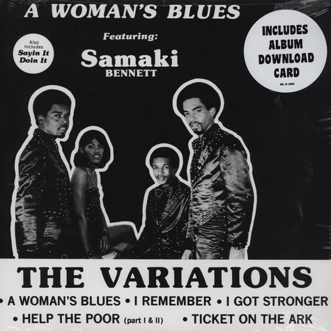 Variations, The - A Woman's Blues