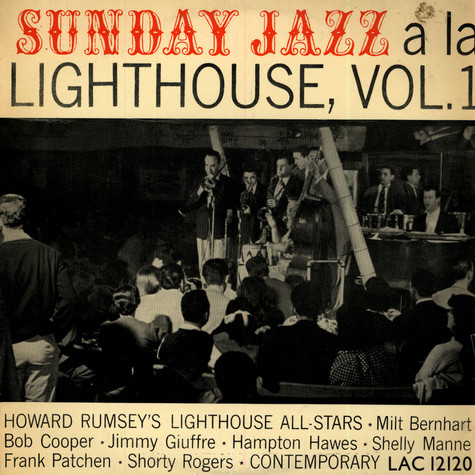 Howard Rumsey's Lighthouse All-Stars - Sunday Jazz A La Lighthouse, Vol. 1
