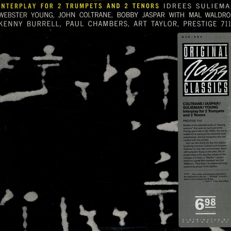 Idrees Sulieman / Webster Young / John Coltrane / Bobby Jaspar - Interplay For 2 Trumpets And 2 Tenors