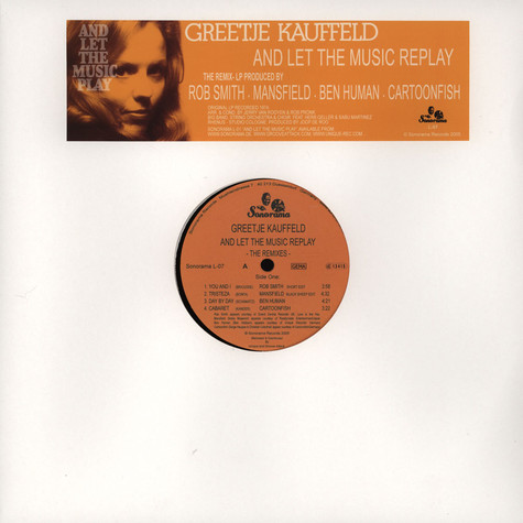 Greetje Kauffeld - The Remix LP