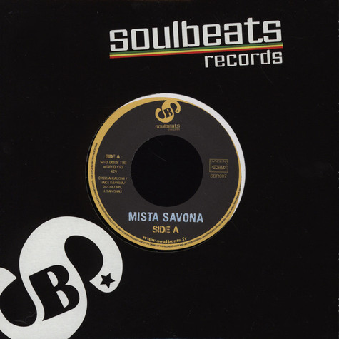 Mista Savona - Why Does The World Cry