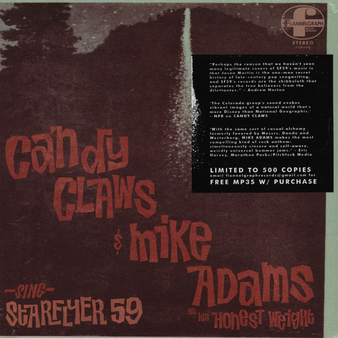 Candy Claws / Mike Adams - Sing Starflyer 59