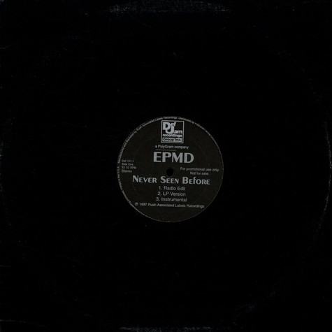 EPMD - Never seen before