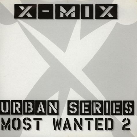 X-Mix - Urban Series Most Wanted 2