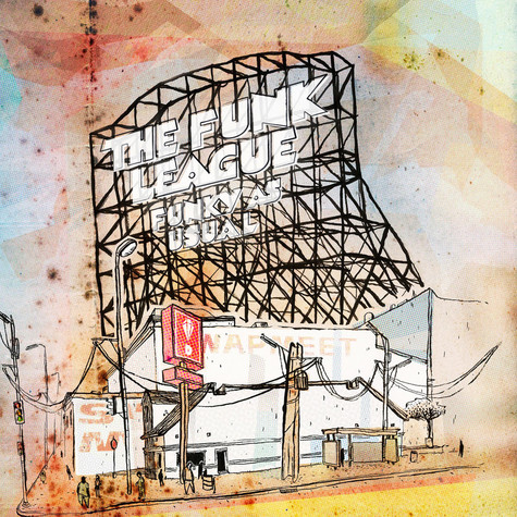 Funk League, The - Funky As Usual