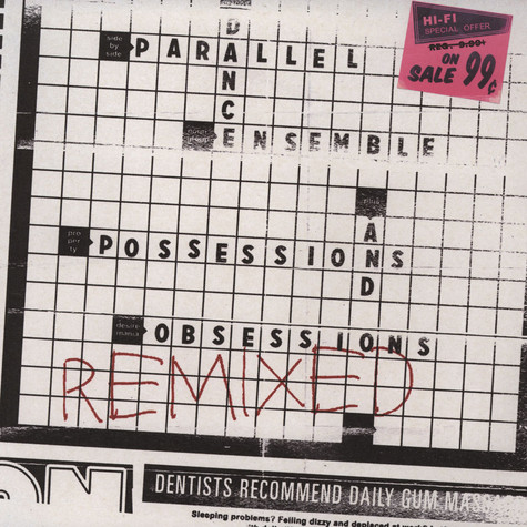 Parallel Dance Ensemble (Robin Hannibal & Coco Solid) - Possessions And Obsessions Remixed