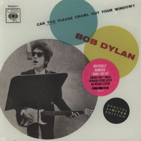 Bob Dylan - Can You Please Crawl Out Your Window Box Set