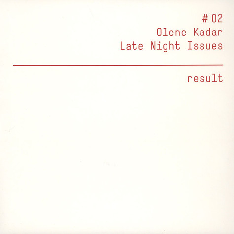 Olene Kadar - Late Night Issues