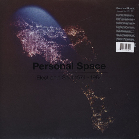 V.A. - Personal Space: Electronic Soul 1974 - 1984