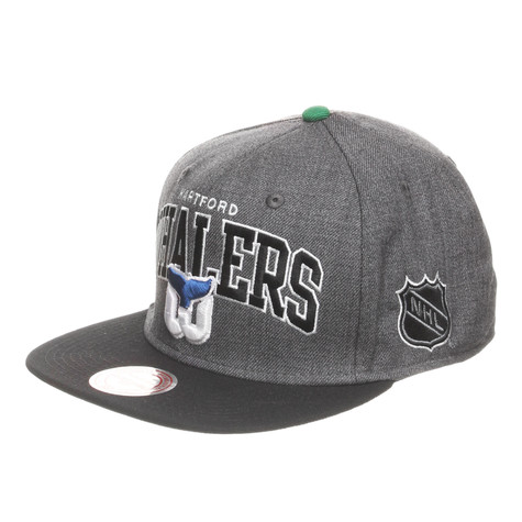 Mitchell & Ness - Hartford Whalers NHL Arch W/Logo G2 Snapback Cap