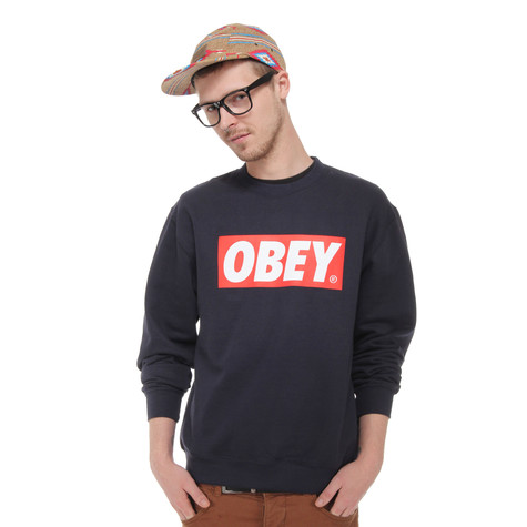Obey - The Box Crew Neck Sweater