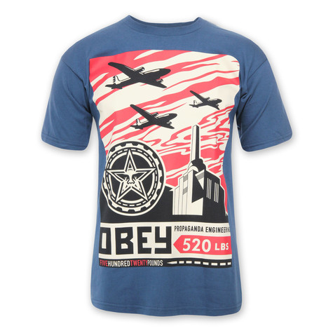 Obey - Airplane Factory T-Shirt