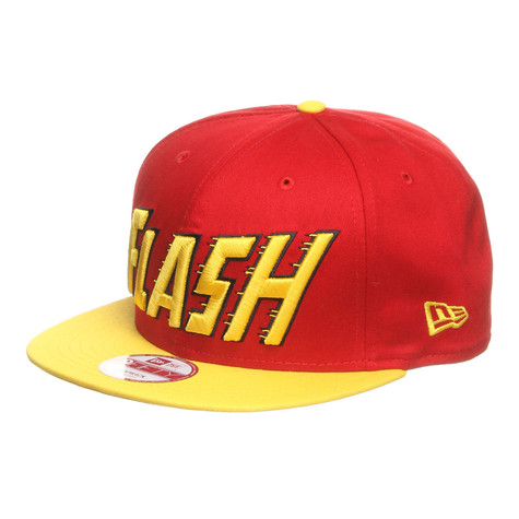68f15f79fb0 New Era x DC Comics - The Flash Classic Word Snapback Cap (Scarlet ...
