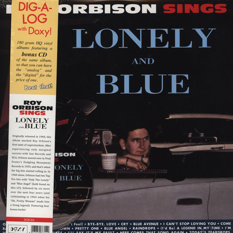 Roy Orbison - Sings Loneley And Blue