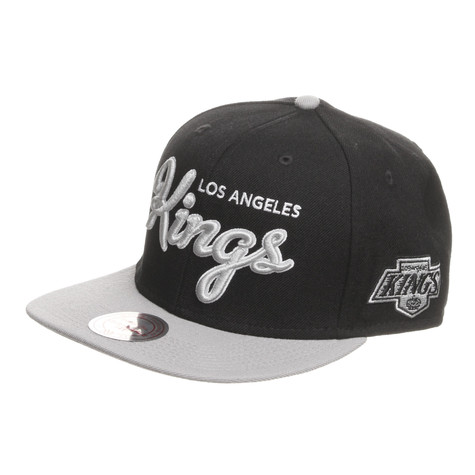 Mitchell & Ness - Los Angeles Kings NHL 2 Tone Script Snapback Cap