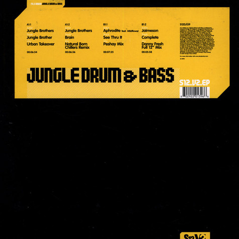 V.A. - Jungle drum & bass EP