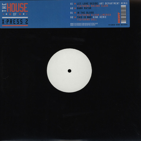 X-Press 2 - The House Of X-Press 2(Album Sampler)