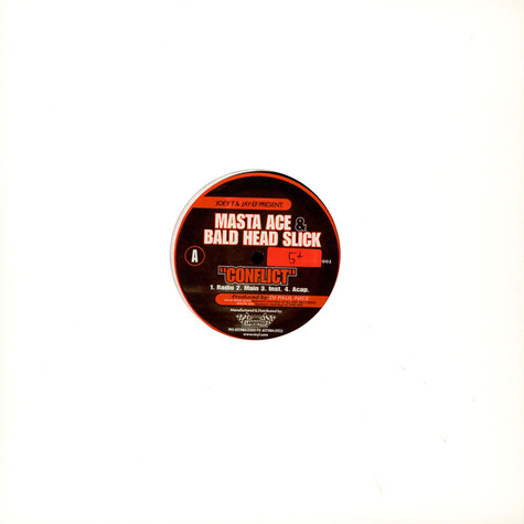 Masta Ace & Bald Head Slick / Stricklin - Conflict / The Booth