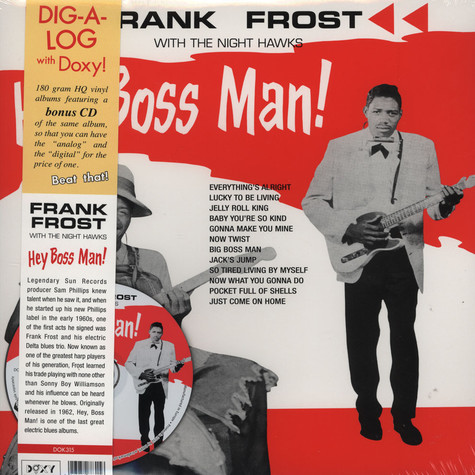 Frank Frost With The Night Hawks - Hey Boss Man