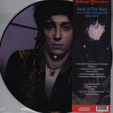 Johnny Thunders - Dawn Of The Dead: Live At Max's Kansas City