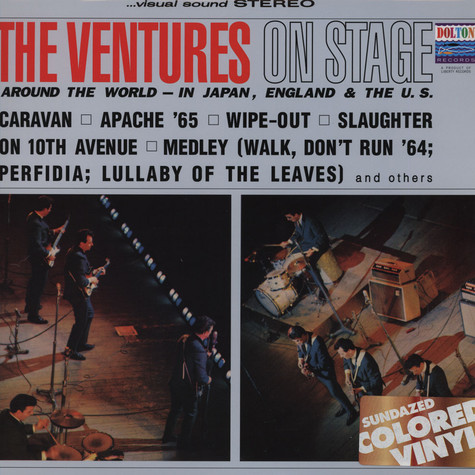 Ventures, The - On Stage
