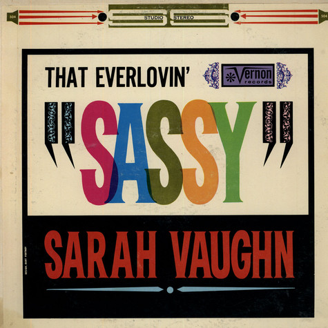Sarah Vaughan - That Everlovin' Sassy