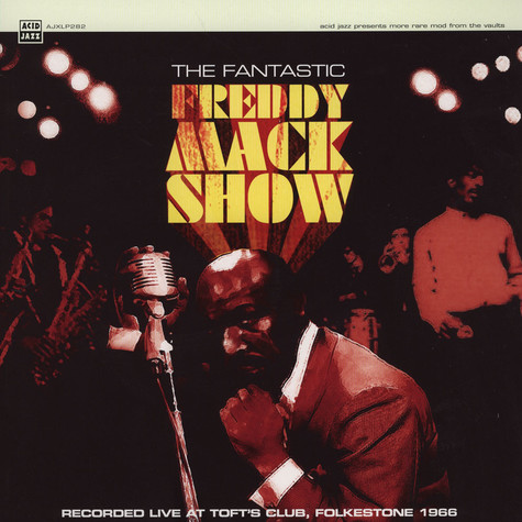 Freddy Mack - Fantastic Freddy Live!
