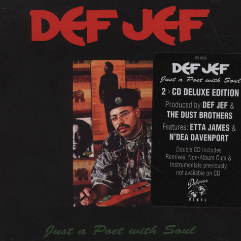 Def Jef - Just A Poet With Soul Deluxe Edition