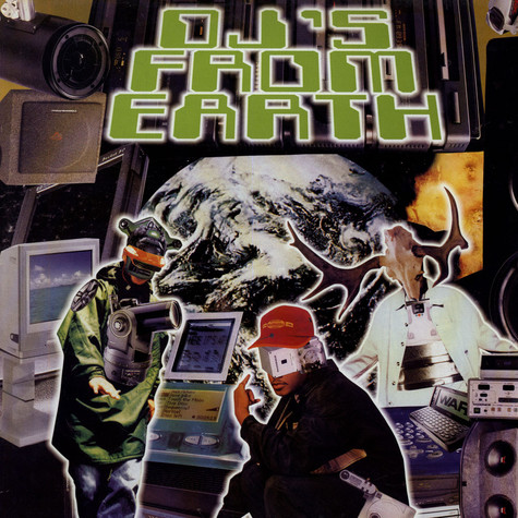 DJ Lamont & DJ Grasshoppa - Dj's from earth