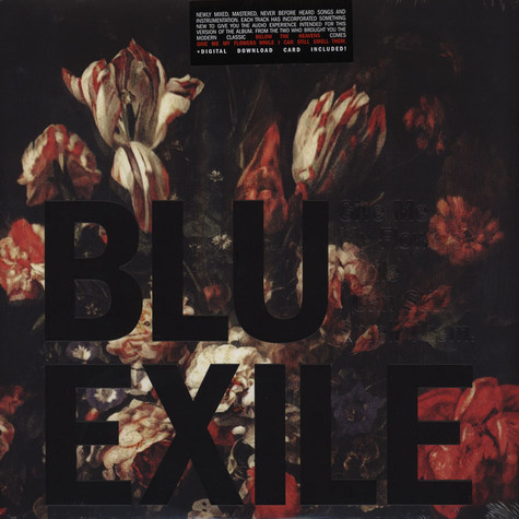 Blu & Exile - Give Me My Flowers While I Can Still Smell Them Red Vinyl Edition