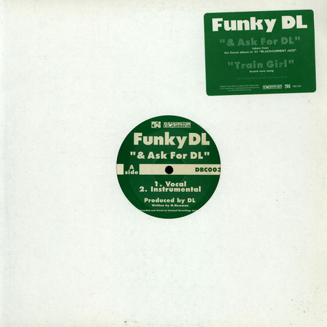 Funky DL - & Ask For DL / Train Girl