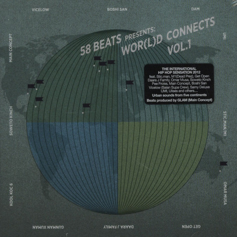 58 Beats presents - Wor(l)d Connects Volume 1