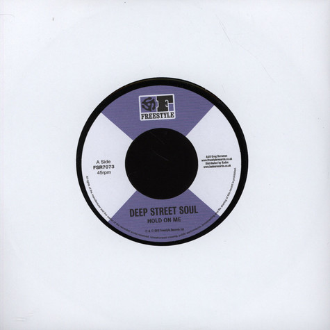 Deep Street Soul - Hold On Me