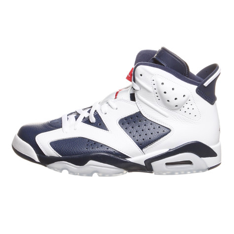 1175f6ef61a5 Jordan Brand. Air Jordan 6 Retro Olympic (White   Midnight Navy Varsity Red)