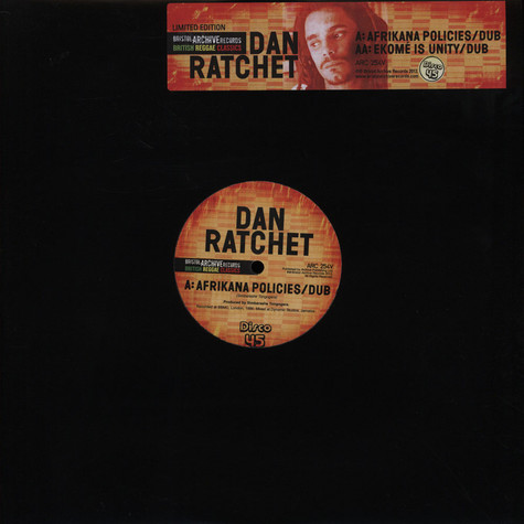 Dan Ratchet - Afrikana Policies
