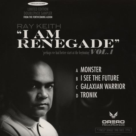 Ray Keith - I Am Renegade Album Sampler