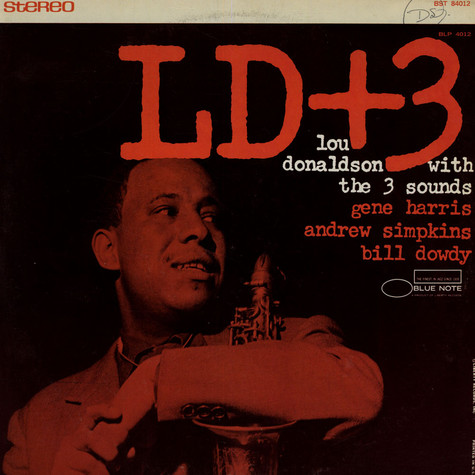 Lou Donaldson with Three Sounds - LD+3