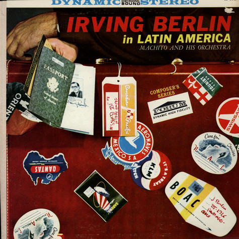 Machito And His Orchestra - Irving Berlin In Latin America