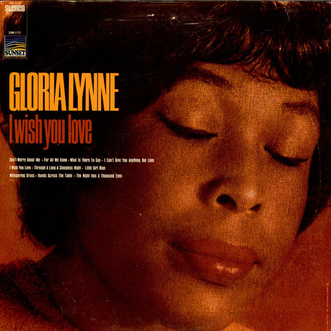 Gloria Lynne - I Wish You Love