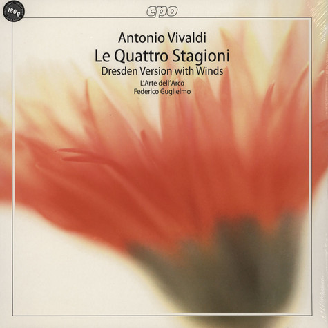 Vivaldi / L'arte Dell'arco / Guglielmo - Le Quattro Stagioni: Dresden Version With Winds