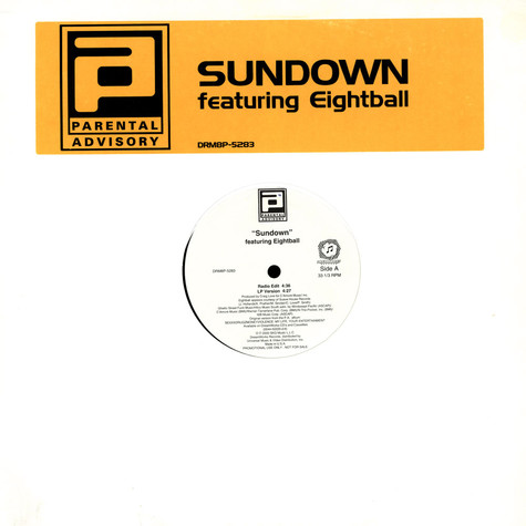Parental Advisory - Sundown feat. Eightball