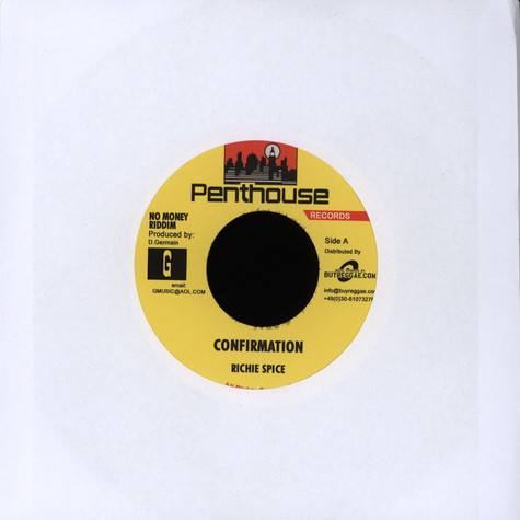 Richie Spice / Sanchez - Confirmation / I´m For Real