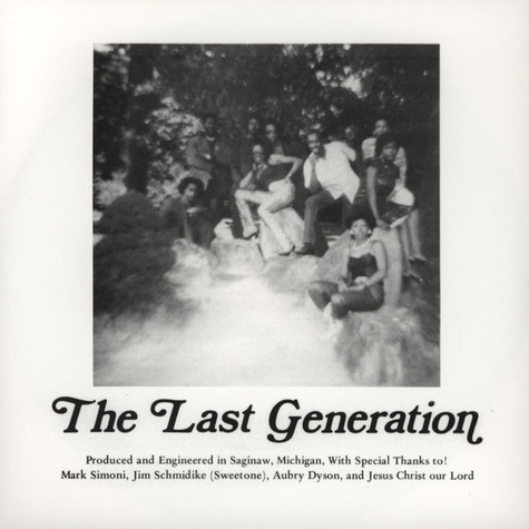 Last Generation, The - Just A Chance In Life