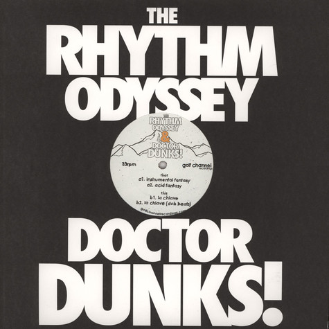 Rhythm Odyssey, The & Dr Dunks - Instrumental Fantasy
