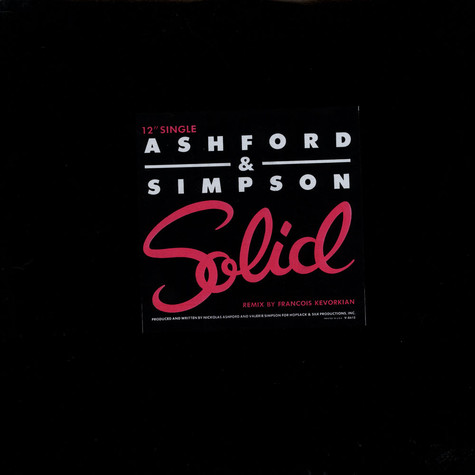 Ashford & Simpson - Solid (Special Club Mix)