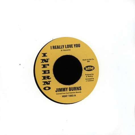 Jimmy Burns - I Really Love You