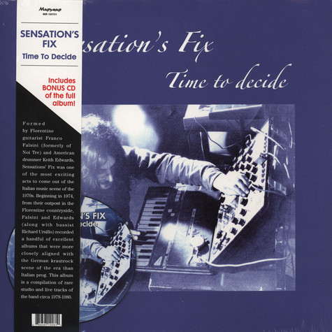 Sensation's Fix - Time To Decide